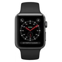 Watch Series 3 GPS Cell 42mm grijs alu zwarte band
