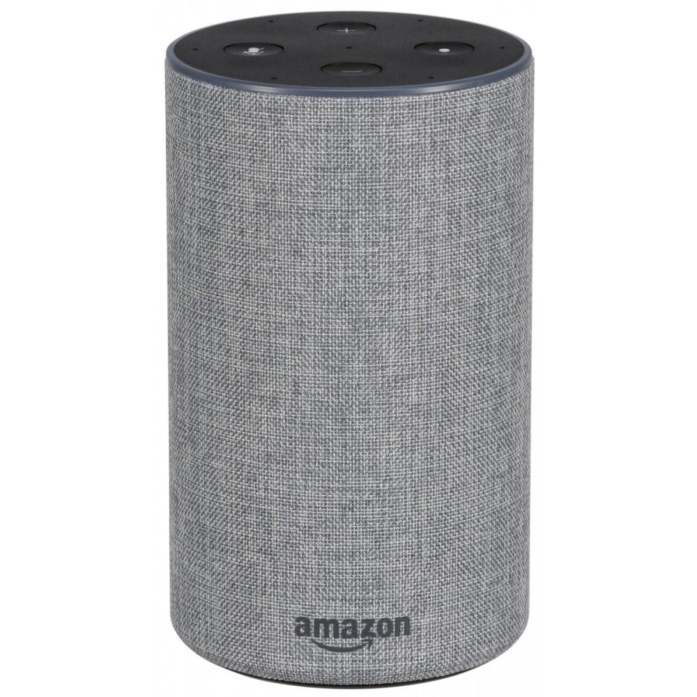 Afbeelding van Amazon Echo 2 lichtgrijs doek Smart speaker Assistant B0749ZSPP6