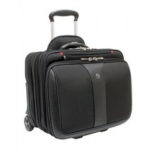 Patriot II trolley voor laptop 15,4 /17  zwart