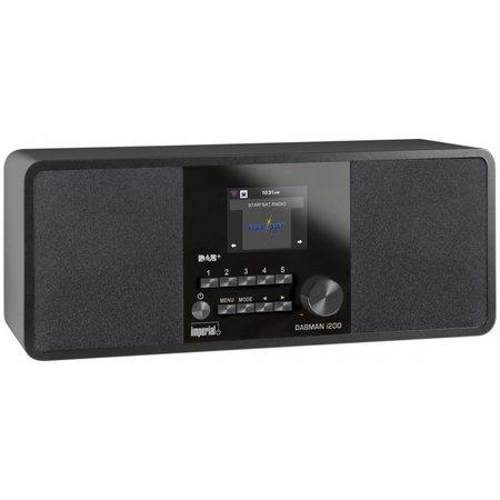 Imperial DABMAN i200 internetradio zwart 22-231-00