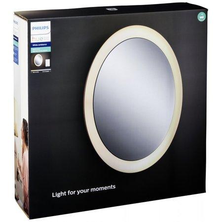 Philips Hue Adore LED spiegel/wandlamp wit