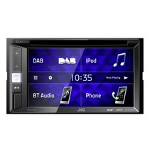 KW-V255DBT auto videosysteem incl. DAB antenne