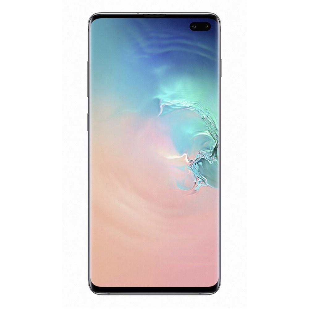 Samsung Galaxy S10+ smartphone (128GB) prism wit