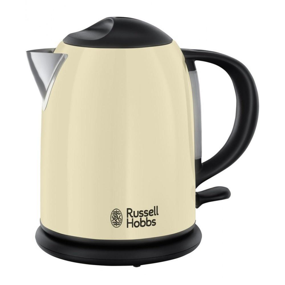 Russel Hobbs Waterkoker.Russell Hobbs Colours Plus Compact Waterkoker Creme 20194 70 C