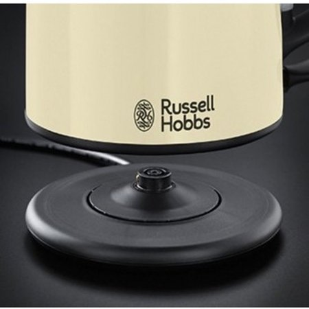 Russell Hobbs Colours Plus+ Compact waterkoker creme 20194-70 C