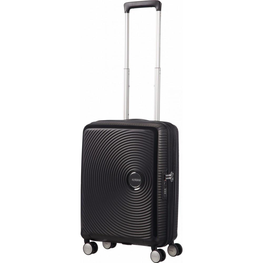 Afbeelding van American Tourister Soundbox Expandable Spinner 55cm Bass zwart