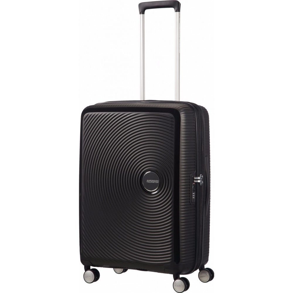 Afbeelding van American Tourister Soundbox Spinner 67 cm TSA Exp Bass zwart