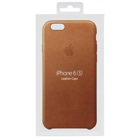 Apple iPhone 6s lederen case saddle brown