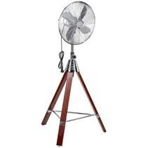 VL 5688 S 40 cm Design Inox-hout staande ventilator