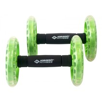 Set Van 2 Dual Rollers groen/zwart