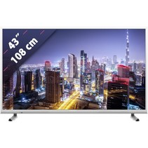 """43"""" LCD-TV GUW 8960 wit"""