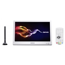 TFT-1028 - Draagbare televisie HD met DVB-T2 - 10 inch - Wit