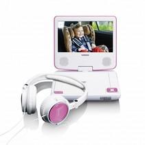 DVP-710 draagbare DVD speler roze