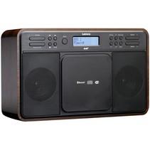 DAR-040 DAB+ radio/CD walnoot