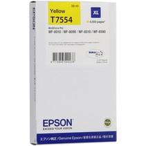Inktpatroon XL geel T 755   T 7554