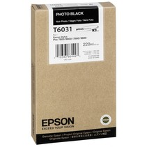 inktpatroon foto zwart  T 603 220 ml T 6031