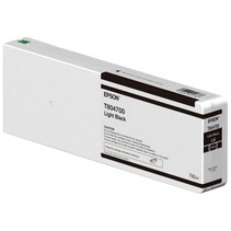 Inktpatroon UltraChrome HDX/HD light zwart 700 ml T 8047