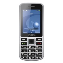 PRIME zilver mobiele telefoon
