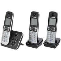 KX-TG6823GB zwart draadloze telefoon