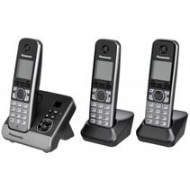KX-TG6723GB zwart draadloze telefoon