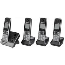 KX-TG6724GB zwart draadloze telefoon