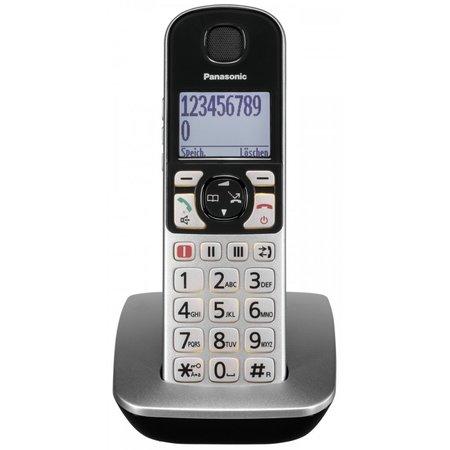 Panasonic KX-TGQ500GS zilver draadloze telefoon
