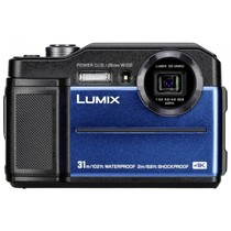 Lumix DC-FT7 blauw digitale camera