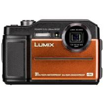 Lumix DC-FT7 oranje digitale camera