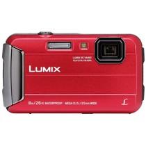 Lumix DMC-FT30 rood digitale camera
