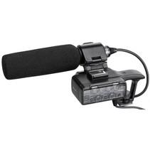 XLR-K1M adapterset XLR box en richtmicrofoon