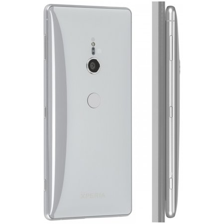 Sony Xperia XZ2 Dual SIM liquid silver smartphone