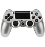 Sony Playstation PS 4 Controller Dual Shock wireless zilver V2