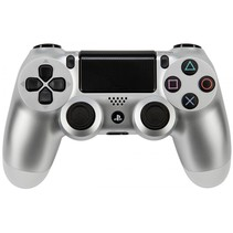 Playstation PS 4 Controller Dual Shock wireless zilver V2