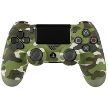 Playstation PS4 Controller Dual Shock wireless groen camo
