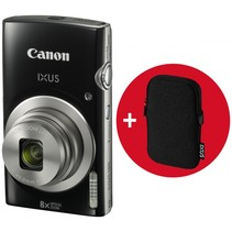 IXUS 185 zwart Essential Kit camera