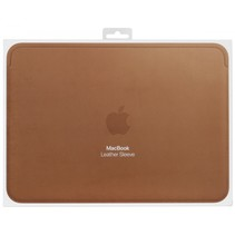 Leather Sleeve 12-inch MacBook Saddle Brown