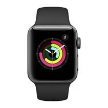 Watch Series 3 GPS 38mm grijs alu zwarte sportband