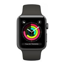 Watch Series 3 GPS 42mm grijs alu zwarte sportband