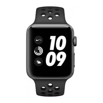 Watch Nike+ Series 3 GPS 42mm grijs alu Nike band