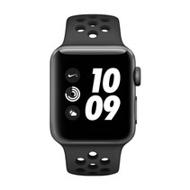 Watch Nike+ Series 3 GPS Cell 42mm grijs alu Nike band