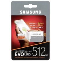 microSDXC EVO+ 512GB met Adapter MB-MC512GA/EU