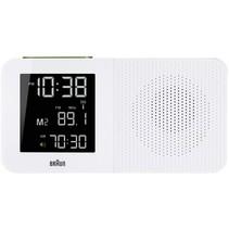 BNC 010 wekkerradio radio gestuurd wit