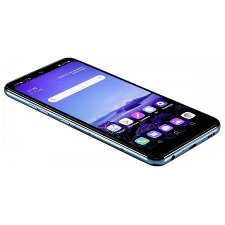 LG Q60 moroccan blue smartphone