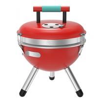 Park BBQ Houtskoolbarbecue rood