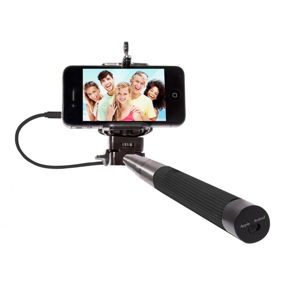 thumbsUp! Click Stick - Selfie Stick - zwart