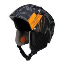 V-Power skihelm strapped black