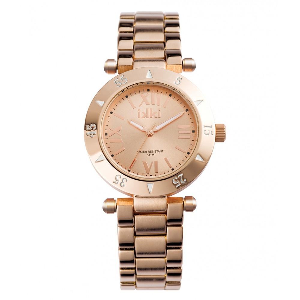 IKKI Daisy roségoud kleurig Horloge D2M
