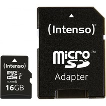 microSDHC Card      16GB Premium Class 10 UHS-I