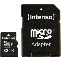 microSDHC Card      32GB Premium Class 10 UHS-I