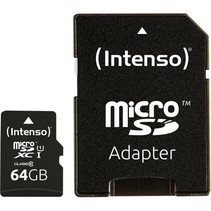 microSDXC Card      64GB Class 10 UHS-I Premium